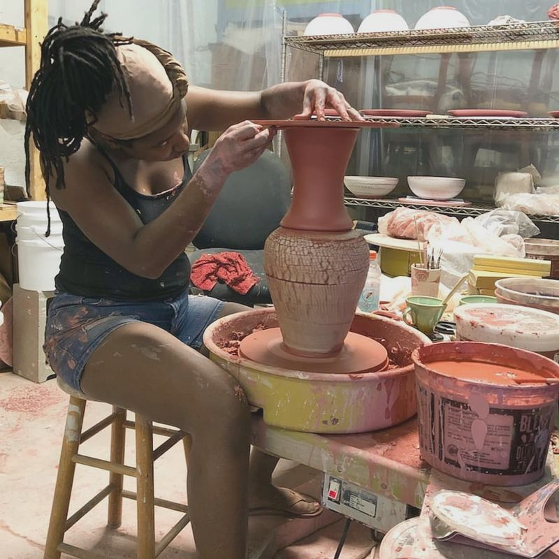 Liberty Arts Intro To Pottery Wheel Throwing