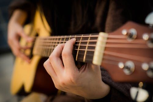 Beginner Guitar (Grade 7-12) Class A TERM 2 2020