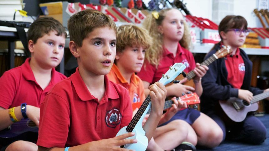 Ukulele (Grade 4-7) INSTRUMENT RENTAL OR PURCHASE AVAILABLE