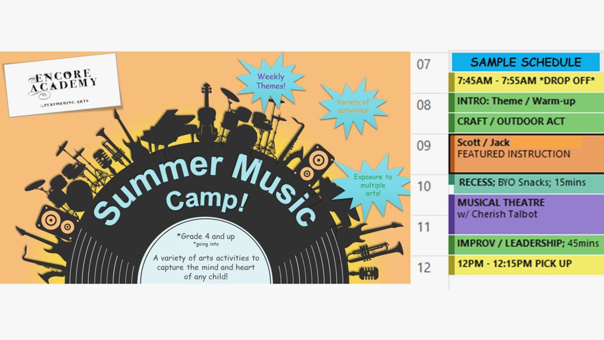 Summer Music Camp - Week 5
